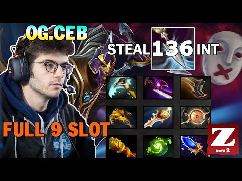 OG.CEB SILENCER Full 9 Slot Items - EPIC Game 105 Mins 126 Kills and Steal 136 Int DOTA 2