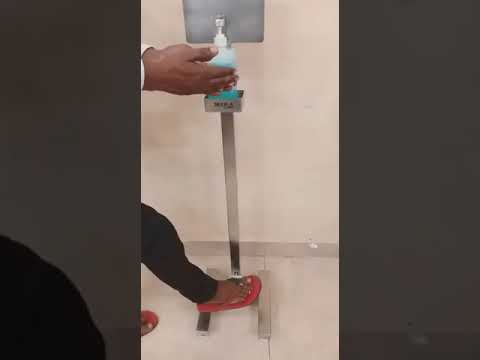 SS Sanitizer Stand