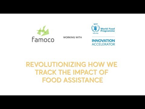 Famoco & WFP Innovation Accelerator : Revolutionizing how we track the impact of food assistance