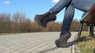 Night Walk - Fashion Killer - Jeffrey Campbell Shadow Stud Heel Less Platform Shoes
