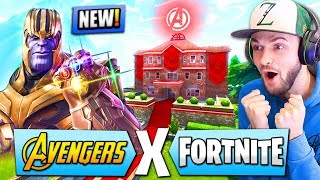 *NEW* AVENGERS MODE coming to Fortnite: Battle Royale!