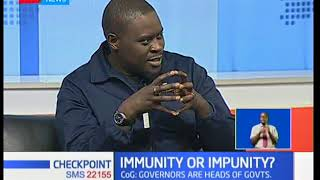 Should Governors be granted immunity similar to that of the President? (Part 1)