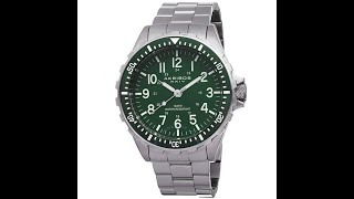 Akribos XXIV AK689GN Essential Swiss Quartz Green Dial