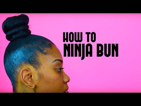 Top Knot Bun With Bangs Youtube Download