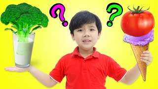 Do You Like Broccoli Milk? | Funny Food Song and Nursery Rhymes for Kids