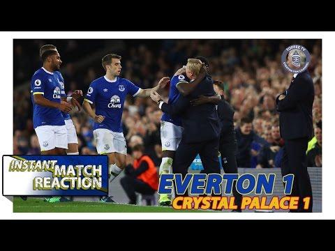 Everton 1-1 Crystal Palace | Baz's Instant Match Reaction
