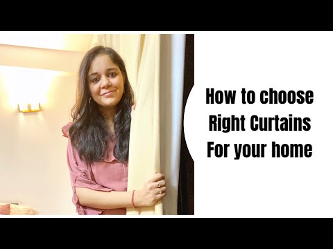 choosing curtains - top 3 tips of choosing curtains in right way