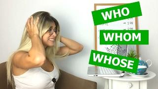 Who, Whom, Whose | Grammar | Eng