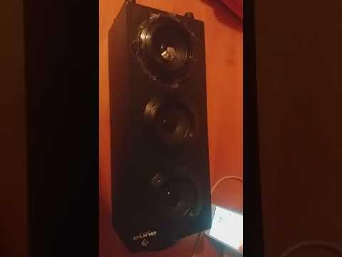 Auna beachboy multimedia bluetooth speaker BASS TEST