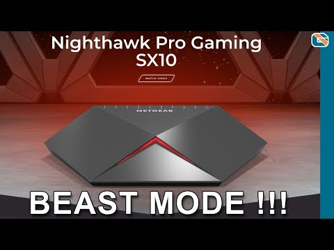Netgear Nighthawk SX10 Gaming Switch Review