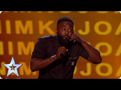 Kojo's hilarious childhood tales has the Judges in stitches | Semi-Finals | BGT 2019