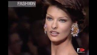 OSCAR DE LA RENTA Fall Winter 1992 1993 New York - Fashion Channel