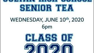 2020 Senior Tea