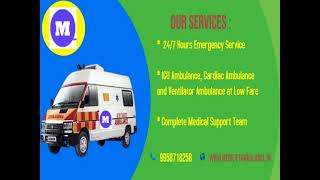 Pick Medilift Cost-Effective Ambulance Service in Patna and Ranchi