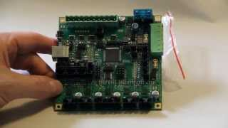 Review of the RAMBo 3D printer controller board by RepRap Electro.