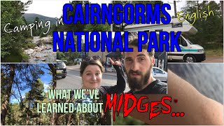 VLOG#17 First days in Scotland & Cairngorms + Midge facts