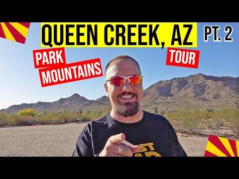 Queen Creek, Arizona Park, Mountains & Tour: Moving / Living In Phoenix, Arizona Suburbs (Pt. 2)