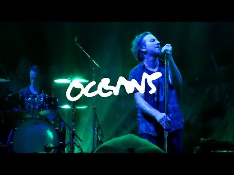 Pearl Jam - Oceans (for Israel Barrales), Barcelona 2018 (Edited & Official Audio)