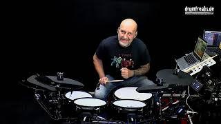 XDrum DD-650 E-Drum Set präsentiert von drumfreaks.de - Teil 3 von 3
