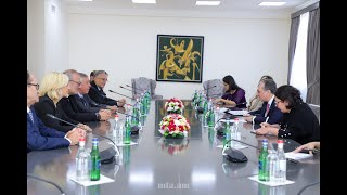 Foreign Minister Zohrab Mnatsakanyan received the French delegation
