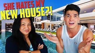 Mom ROASTS My New House?!