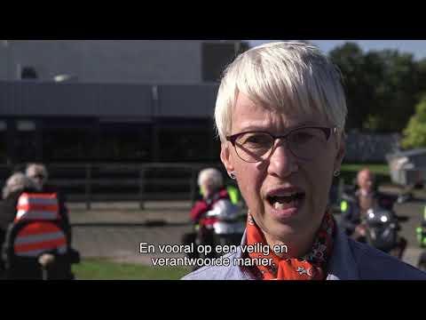 """VVN houdt scootmobielcursus in Dronten: """"Recht op een veilige plek in het verkeer"""""""