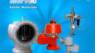 MARVAC Pressure  Vacuum Tank Protection Valves