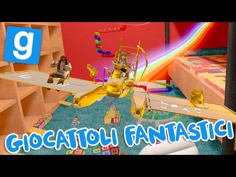 Gmod ITA - Proviamo giocattoli e costruzioni incredibili!!