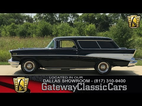 Video of 1957 Chevrolet Nomad located in DFW Airport Texas Offered by Gateway Classic Cars - Dallas - L7NG