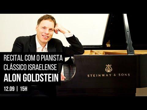 Recital com o pianista clássico israelense - Alon Goldstein