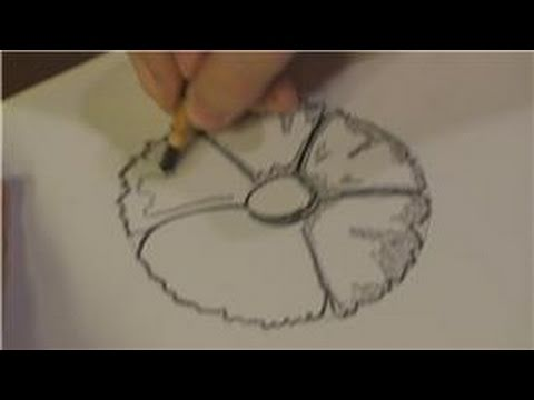 How To Draw Flowers : How To Draw Unique Flowers