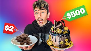 Guessing Cheap VS Expensive Food Items! **DIFFICULT**