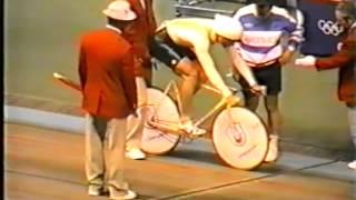 Олимпийские игры Сеул 1988год гит 1км