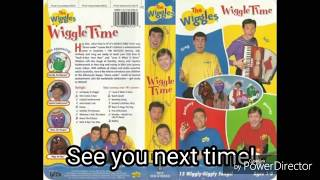 The Wiggles - Song Titles From Wiggle Time! (1998, Reverse)