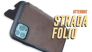 OtterBox Strada Folio Wallet Case   iPhone 11 Pro Max   Leather Wallet Case