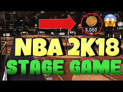 NBA 2K18 ANTE UP ! PLAYING STAGE IN 2K18 ! DRIBBLING GODS 1V1 !