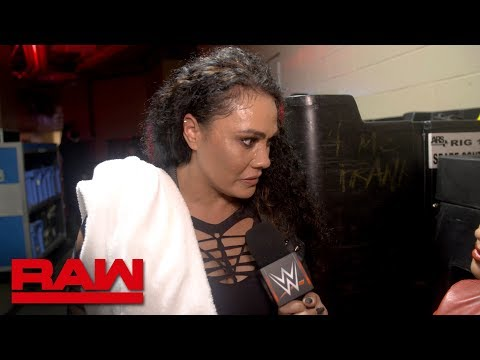 Tamina has a lot to prove to the Raw Women's division: Raw Exclusive, Oct. 15, 2018
