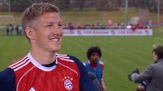 """Was Sagt Bastian """"Fußballgott"""" Schweinsteiger über Mario Mandzukic?"""