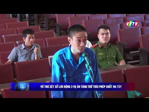 Tại xã Song An, Tòa án nhân dân huyện Vũ Thư đưa ra xét xử lưu động 3 vụ án về ma túy