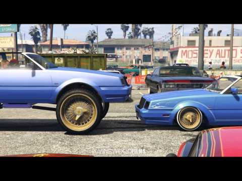 GTA 5 (DONK VS LOWRIDER) HYDRAULICS SESSION