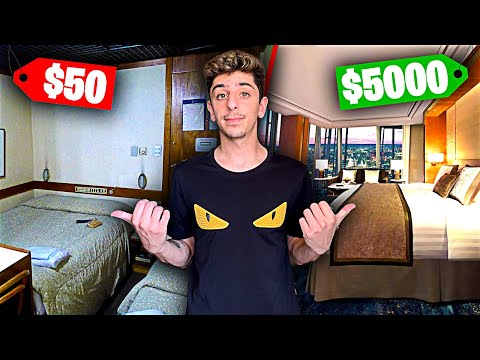 $50 Hotel Room VS $5,000 Hotel Room