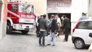 preview picture of video 'Crollato un solaio a Velletri, morto un operaio'
