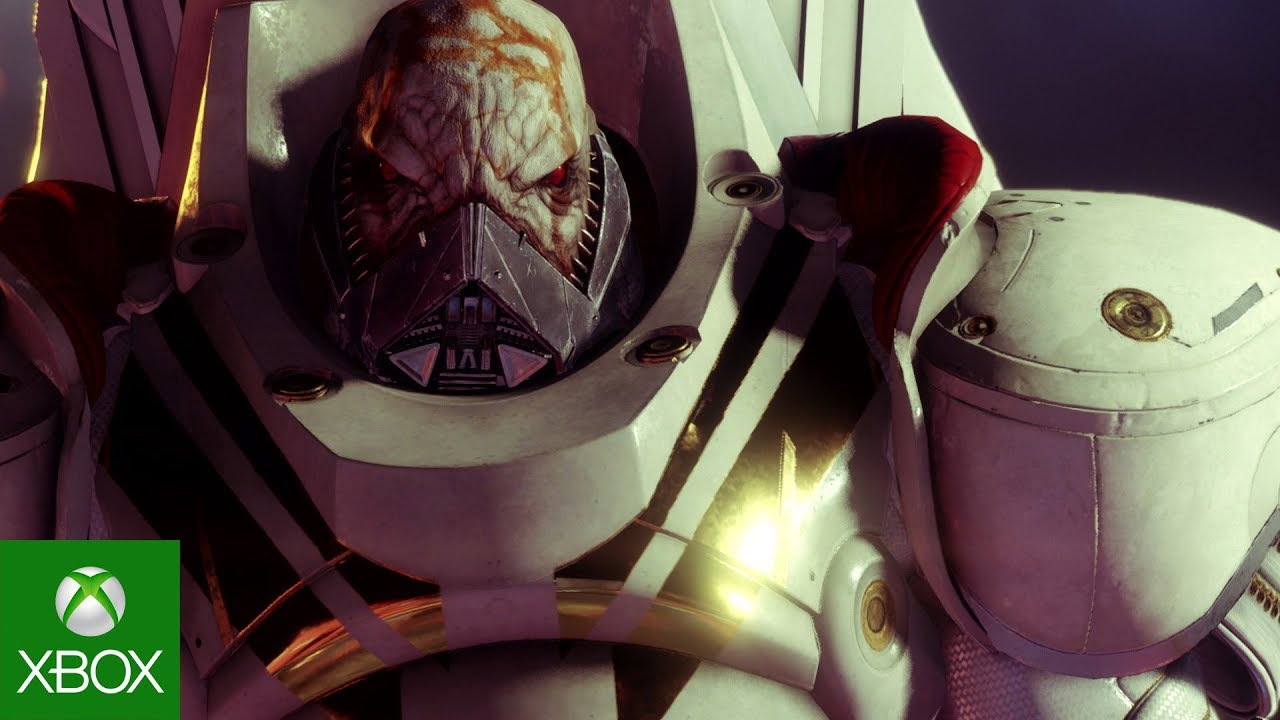Front view of Ghaul's face