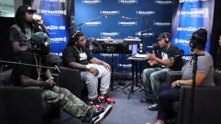 """Wale Performs """"Love Hate Thing"""" in Sway in the Morning's Live In-Studio Concert Series"""