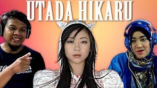 IRone Family React to Utada Hikaru (First Love, Automatic, Sakura Drops) - Indonesia
