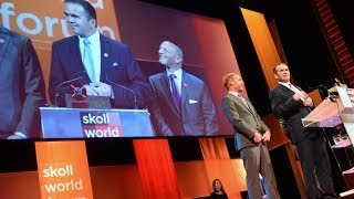 Bart Houlahan of B Lab Accepts Skoll Award for Social Entrepreneurship