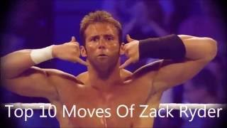 Top 10 Moves Of Zack Ryder