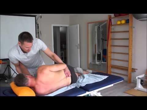 Die Folgen das Dehnen der Halswirbelsäule