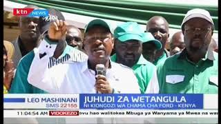 Kiongozi wa chama cha Ford Kenya Moses Wetangula asisitza kuwa atakua debeni kuwania urais 2022