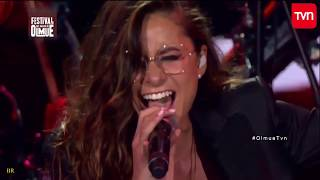 Más de la mitad - Camila Gallardo  en vivo Olmue